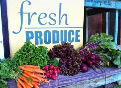 2014 HCCSA summer SHF produce stand veggies